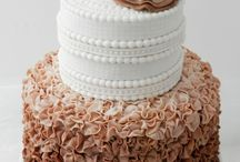 Chocolate ruffle cake / by Stephanie Goldsmith