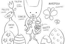 Pascua / by Dos Borreguitas | Spanglish Style for Kids