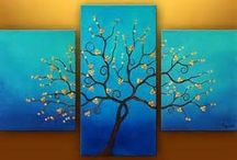 Painting ideas / by Missy Woessner Munson