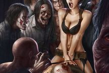 Zombies / I'm gonna taste your blood....everything zombie. / by Kelly Smith