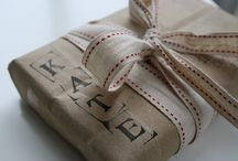 Gift Wrapping Ideas / by Kristin Rios