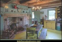 Early American  / My favorite decorating style / by Elly Crist