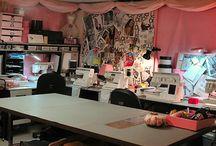 sewing rooms / by Debra Adams