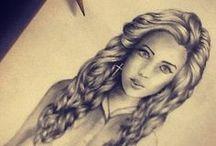 Drawings / by Kayla Kitten