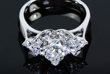 Custom Engagement Rings / Custom engagement rings - why not design your own engagement ring? Selecting custom engagement rings online is a satisfying & secure experience with Whiteflash.com http://bit.ly/fvg0hn / by Engagement Rings