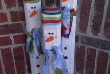 snowmen / by Kathy Bryson
