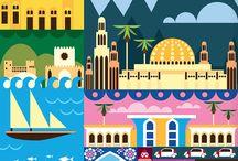 Travel - Arabian Peninsula / Oman - Yemen - Bharen - Saudi Arabia - Qatar - United Arab Emirates - Kuwait / by Geraldo Figueras