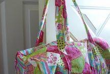 Bolsos de tela/ fabric bags / by Flacavaca