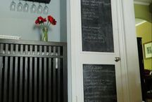 Chalkboard Paint / Look at how easy it is to incorporate organization and design! Whether your making lists, or menus or just adding your own little personal touch to your home decor, chalkboard DIY projects are a fun addition to any home. This board showcases popular chalkboard crafts that add character and can be modified with a quick swipe of an eraser to change with you and your family's schedule. / by Hometalk