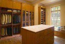 Closets / Custom closet systems by Closet & Storage Concepts / by Closet & Storage Concepts