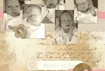 Janet Scott Designs Layouts / Layouts made using kits and elements from designer Janet Scott. / by Kathie Gray