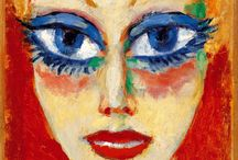 Kees van Dongen / Cornelis Theodorus Maria van Dongen (January 26, 1877 – May 28, 1968), usually known as Kees van Dongen or just van Dongen, was a Dutch painter and one of the Fauves. He gained a reputation for his sensuous, at times garish, portraits.   / by Brimstone Dreams