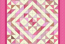Half Square Triangle Blocks and Quilts / by Ray Janikowski