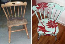 Crafty Painted Fun Stuff / Oh my how I love painted furniture! / by Dawn Craig