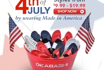 Celebrate the 4th of July With Okabashi / by Okabashi Shoes
