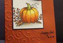 Autumn Cards / by Karen Beaupre
