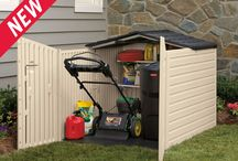 Outdoor Storage / Outdoor storage solutions to help keep your outdoor space organized. / by Rubbermaid
