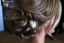 Hairstyles for Meagan's wedding / by Ana Mancini