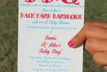 Backyard Baby Shower / Brandie's modern baby shower. / by Jennifer Williams