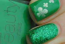 St. Patrick's Day Nails / by Kesha Wiederhold