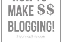 Blogging & Making Money / by Kimberly Sutor - Simple66Gal.com