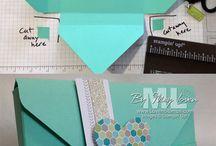 Envelope folds / by Joyce Sasse
