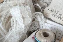 Ribbon and lace / by mOrmOrshjem - GrandmashOme