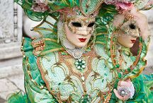 Masquerade /  As Ever Mesmerized And Fascinated By The Mask We All Wear......Venice,Italy-Carnival.Rio De Janeiro,Brazil-Carnival.New Orleans,Louisiana-Mardi Gras. / by Debbie Hill