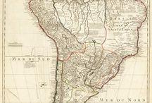 Reino del americano del sur / los países y regiones de América del sur  / by Saudade Kavorka