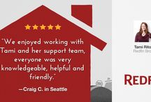 Redfin Agent Reviews / We have a team of experienced, full-service real estate agents who are advocates, not salespeople, earning customer-satisfaction bonuses, not commissions. Here are some reviews! / by Redfin