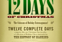 Christmas - 12 Days / I have always loved the 12 Days since I was a child.  Some people say the gifts are full of symbolism, that's fun, but I'd enjoy the 12 Days without it just as much / by Cathy Howie