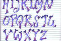 art  lettering / by Lorrie Matthews