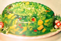 Jello Salad / Did you know that gelatin is one of the richest sources of glycine, an amino acid that your liver needs for everyday detox, it's used to make glutathione, a major antioxidant, AND it can be easily converted to serine, a key component of many of our digestive enzymes?  Who new? / by Shannon