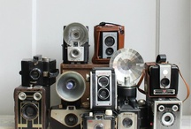 Cameras and typewriters / by Harriet Swindell
