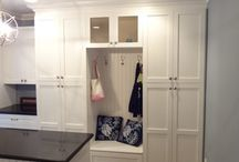 Mudroom/laundry / by Lauren Gregory
