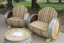 Barrels / A board dedicated to recycled barrels (metal barrels, wood barrels...) / by Recyclart (reused recycled reclaimed repurposed)