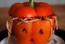 halloween dinner / by Annie LeMaster