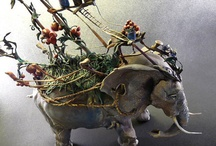 Art - 3 Dimensional / Sculpture, pottery, blown glass, textiles, furniture... / by Daphne Blink