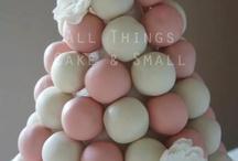 Cakepop tree | Moodboard / Kerstboom | Toren | Dessert  / by Zoet&Meer