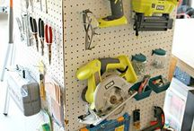 Tools and tool storage / by Classy Lil Miss