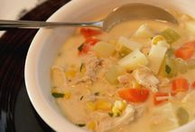 Food - soup / by The Organised Housewife