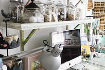 studio & craftng spaces / by Dawn Acuna