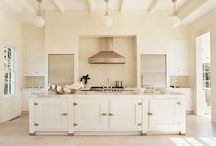 Transitional Kitchens / Kitchens that are transitional in design.  When you are not traditional or not contemporary or maybe when you are just eclectic. / by Michelle 'Russell' Forst