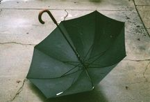 Rain and Umbrellas / by Flowing Water (Kari Parker)