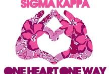 Sigma Kappa <3 / by Liza Day Penney