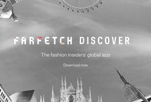 FARFETCH DISCOVER: The App / Farfetch Discover is our new iPhone App, taking a fashion insider's view on cities around the world, with access to a treasure trove of local knowledge direct from our boutiques. From gourmet eateries in Dallas, to charming markets hidden away on Dubrovnik's Adriatic coast, get tips that only a local could know. Browse recommendations on where to eat, drink, stay or explore and read personal itineraries from some of the city's coolest natives... And of course shop right from your fingertips! / by Farfetch