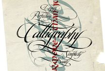 Calligraphy / by Mitzy White