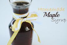 Breakfast-Syrups & Sauces / by Tonya Campbell