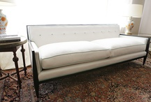 Old new sofa / by Annie Roehr