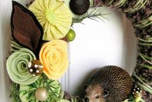 Wreaths / Wreaths, wreaths and more wreaths...  inspiration for my one per month challenge!!! / by Rachel Deer